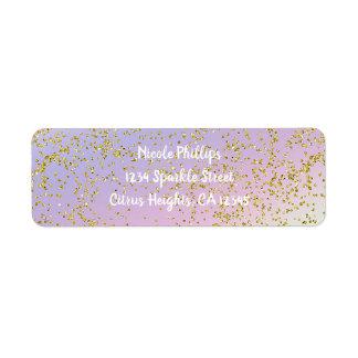 Rainbow Pastel Gold Glitter Fantasy Birthday Party