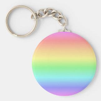 Rainbow Pastel Keychains