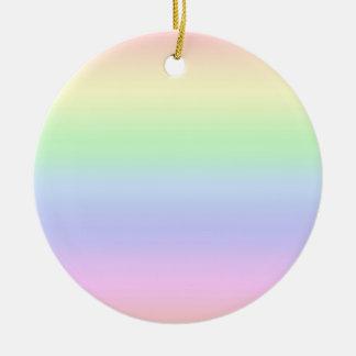 Rainbow Pastel Ornament