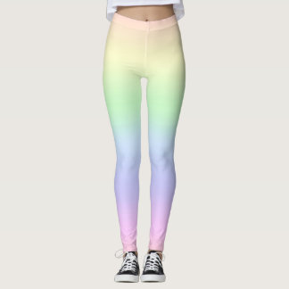 Rainbow Pastels Leggings