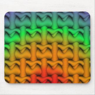Rainbow Pattern Mousepad