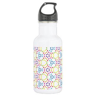 Rainbow Patternpolka 532 Ml Water Bottle