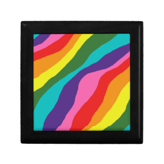 Rainbow Patterns Gift Box