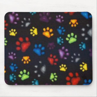 Rainbow Paws Mouse Pad