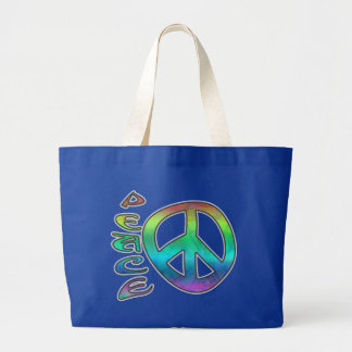 Rainbow Peace Dark Bags