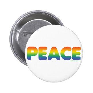 Rainbow Peace Pins