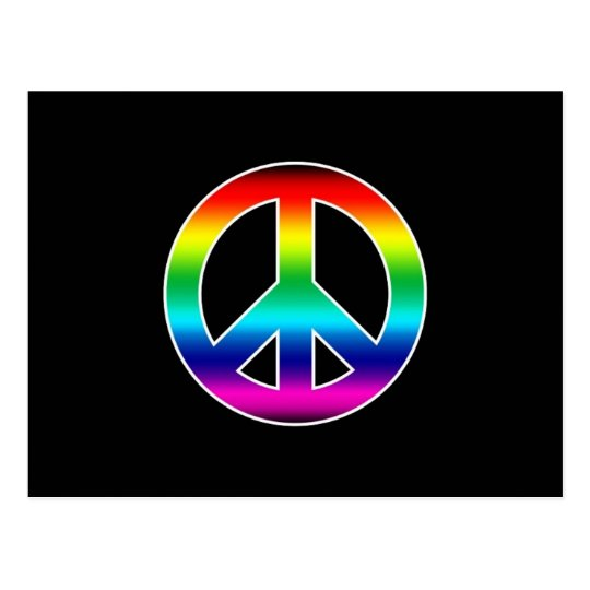 RAINBOW PEACE POSTCARD