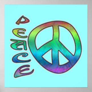 Rainbow Peace Poster