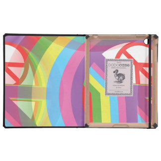 Rainbow Peace Signs Covers For iPad