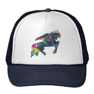 Rainbow Pegasus Hat