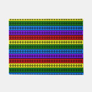 Rainbow Penatcles Doormat
