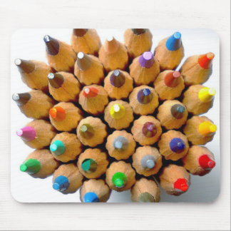 Rainbow pencils mousepads