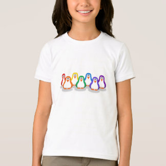 Rainbow Penguins Shirt