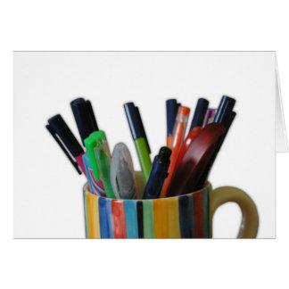 Rainbow Pens Card
