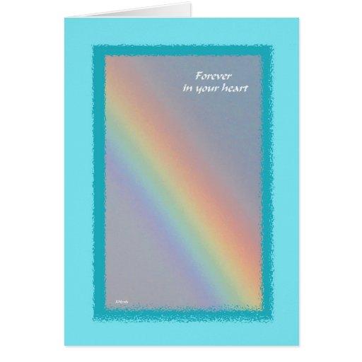 Rainbow Pet Sympathy Card