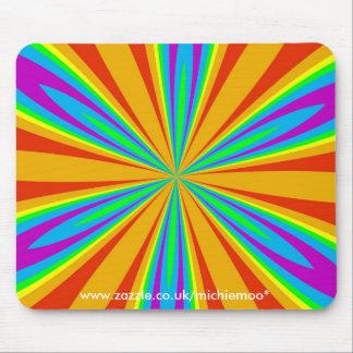 Rainbow Petal Mousemat