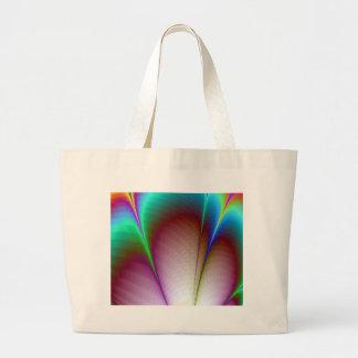 Rainbow Petals Canvas Bags