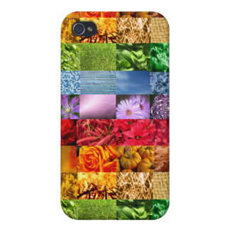 Rainbow Photo Collage Case For The iPhone 4