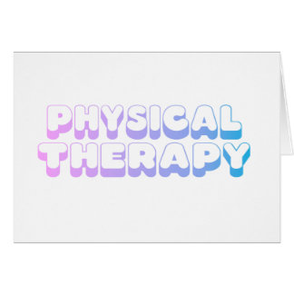 Rainbow Physical Therapy Cards