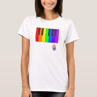 Rainbow Piano T-Shirt