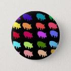 Rainbow Pigs 6 Cm Round Badge