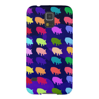 Rainbow Pigs Galaxy S5 Cover