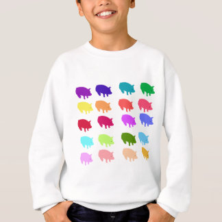 Rainbow Pigs Sweatshirt