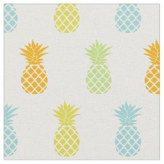 Rainbow Pineapples Pattern Fabric