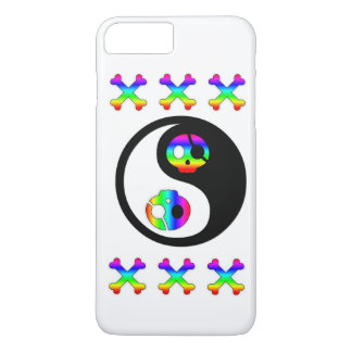 Rainbow Pirate Yin Yang iPhone 7 Plus Case