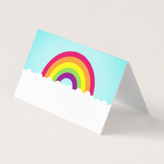 Rainbow Place Card