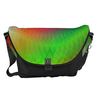 Rainbow Plafond Messenger Bags