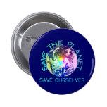 Rainbow Planet Badge