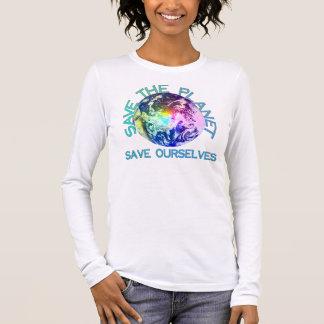 Rainbow Planet Long Sleeve T-Shirt