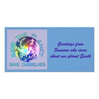 Rainbow Planet Photo Cards