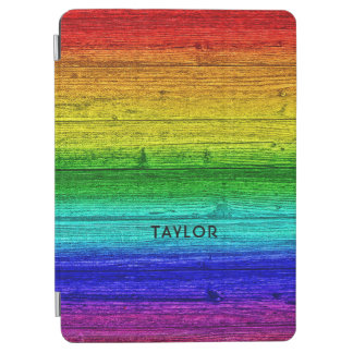 Rainbow Planks custom name device covers iPad Air Cover