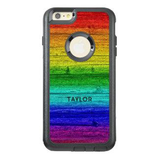 Rainbow Planks custom name phone cases