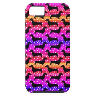 Rainbow Polka Dachshunds Case For The iPhone 5