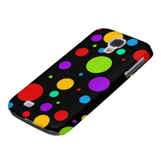 Rainbow Polka Dots Galaxy S4 Case