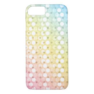 Rainbow Polka Dots iPhone 8/7 Case