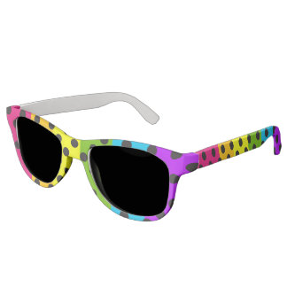 Rainbow Polka Dots LGBT Pride Sunglasses