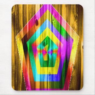 Rainbow Polygon Mousepads