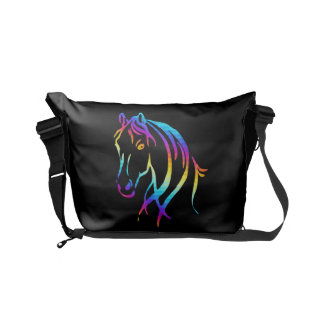 Rainbow Pony Commuter Bags