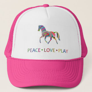 Rainbow Pony Trucker Hat
