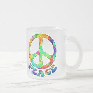 Rainbow Pool Peace Mugs