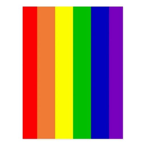 Rainbow Postcard