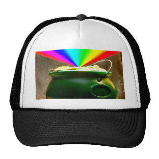 Rainbow Pot of Gold Trucker Hat