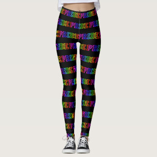 Rainbow Pride Custom Leggings
