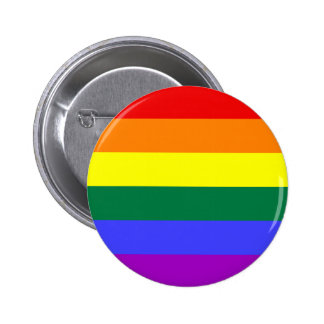 Rainbow Pride Flag Button