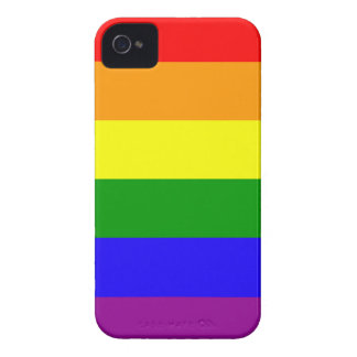 Rainbow pride flag iPhone 4 Case-Mate cases