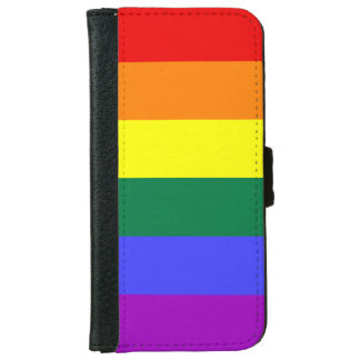 Rainbow Pride Flag iPhone 6 Wallet Case